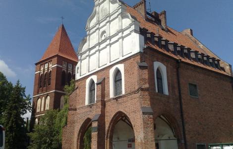Pasłęk - Orneta - Krosno - Lidzbark Warmiński - Smolajny - Dobre Miasto - Głotowo - Pieniężno - Braniewo - Frombork