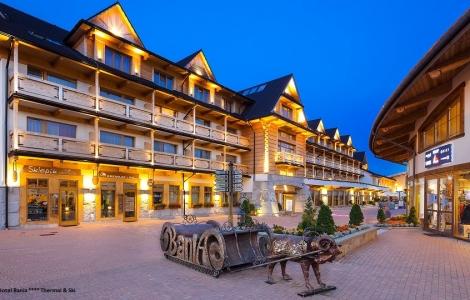 Hotel Bania Thermal & Ski****narty i snowboard basen termalny 3 lub 7 Dni