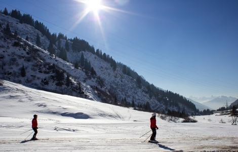 Szwajcaria - Davos Narty i snowboard Zimowe szaleństwo w światowym kurorcie