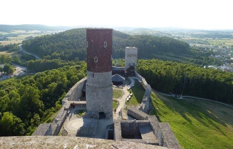 Nagłowice - Zamek w Chęcinach - Kielce- Krzyżtopór - Opatów PerłyGórŚwiętokrzyskich 3 DNI