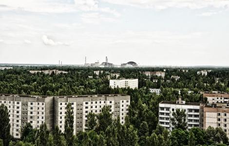 Prypeć Strefa Zamknięta - elektrownia Czarnobyl