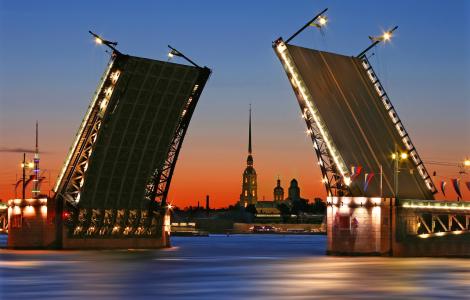 Petersburg Białe noce