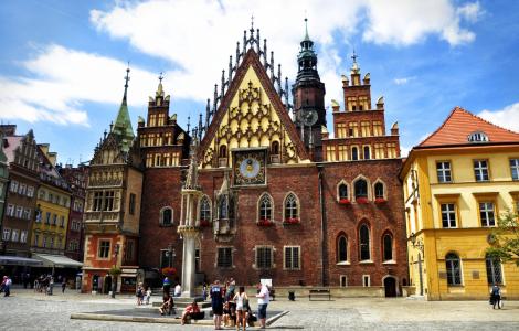 Płock - Wrocław - Oporów
