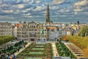 Kraje Beneluxu Belgia Bruksela
