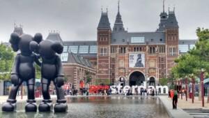 Kraje Beneluxu Holandia Amsterdam Muzeum Rijksmuseum