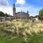 Kraje Beneluxu Holandia Haga Pałac Pokoju