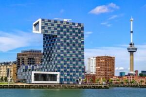 Kraje Beneluxu Holandia Rotterdam Euromaszt