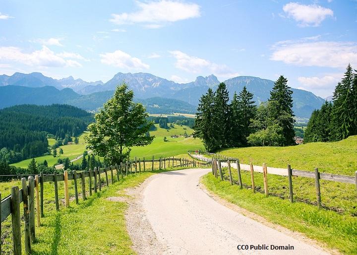 Trekking w Alpach Bawarskich