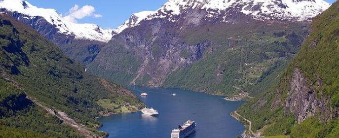 Wycieczka Góry Skandynawia Fiordy Norweskie Fjordlandschaft