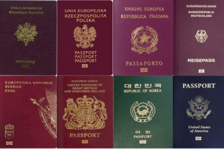 paszporty zagraniczne