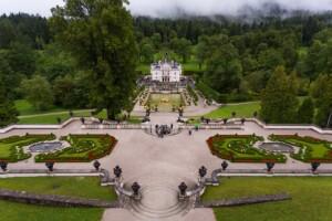 Zamki Bawarii Linderhof