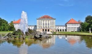 Zamki Bawarii Monachium Nymphenburg