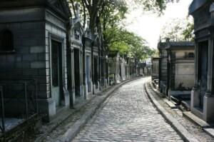 Zamki nad Loarą Paryż Cmentarz Pere Lachaise