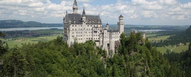 Zamki Bawarii Zamek Schwangau