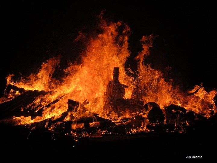 Święto Ognia Hiszpania