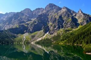 Góry w Zakopanym Morskie Oko Wycieczka do Energylandii Pixabay License