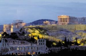 Weekend w Atenach Akropol