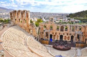Weekend w Atenach Antyczny teatr