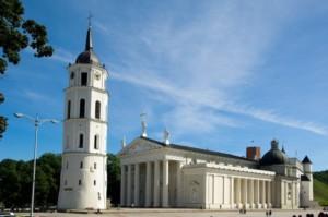 Kraje nadbałtyckie Wilno katedra św. Stanisława