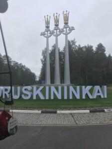 Druskienniki Wycieczka na Litwę. Własność Biuro Podróży Variustur