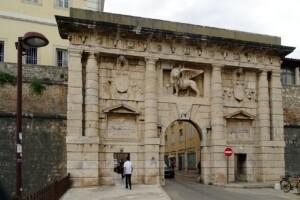 wycieczka do chorwacji bramę Porta Terraferma