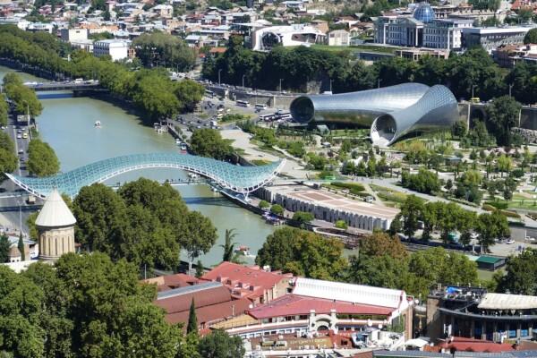 Wycieczka Gruzja Tbilisi Pixabay License