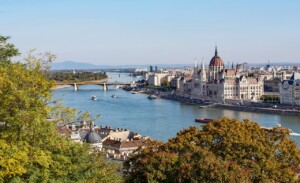 Zakole Dunaju Budapeszt