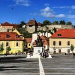 Zakole Dunaju Miasto Eger