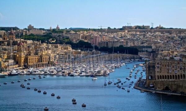 Pielgrzymka Malta port