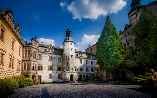 Zamek Frydlant Zamki w Czechach