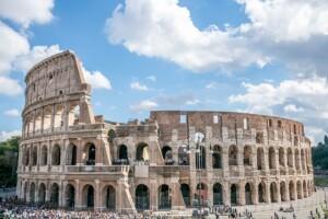 Pielgrzymka Włochy Rzym koloseum