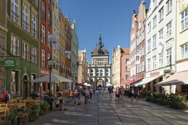 Żuławy Wiślane Gdańsk Długi Targ
