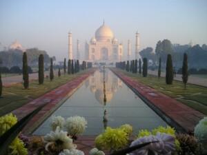 Taj Mahal Agra Wycieczka do Indii