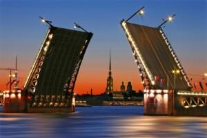 Wycieczka Petersburg Białe noce mosty