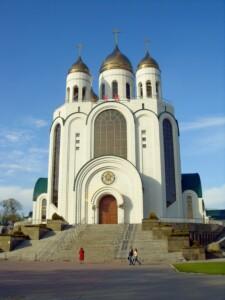 Wycieczka do Kaliningradu cerkiew