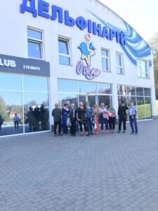 Wycieczki do Lwowa. Delfinarium w Truskawcu. Zdjęcie własnością Biura Podróży Variustur z Elbląga