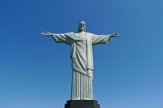 Pielgrzymki Brazylia Rio de Janeiro Pomnik Jezusa Pixabay License