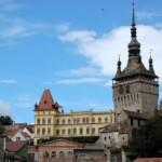 Wycieczka Transylwania Sighisoary wieża zegarowa