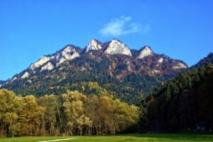 VeloDunajec, Pieniny, Góra Trzy Korony