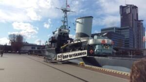 Wycieczka Trójmiasto Gdynia ORP Błyskawica. Zdjęcie własnością Biura Podróży Variustur