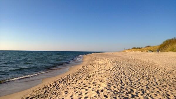 Wzdłuż wybrzeża Bałtyku