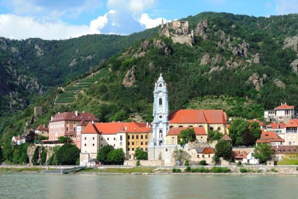 Wycieczka rowerowa wzdłuż Dunaju, Dürnstein