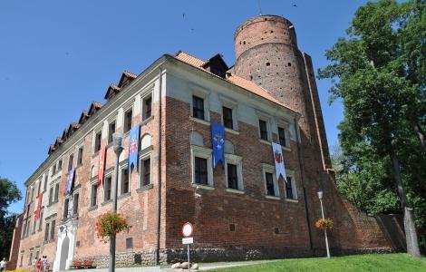Łódź - Uniejów - Zamek w Oporowie