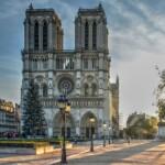 Zamki nad Loarą Katedra Notre Dame