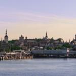 Kraje nadbałtyckie Tallin Estonia
