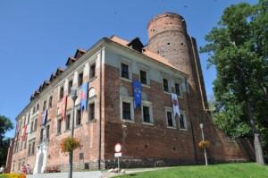 Wycieczka do Łodzi, Zamek w Uniejowie