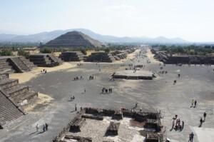 Pielgrzymka do Meksyku, Teotihuacan