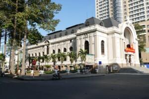 Wycieczka Wietnam Saigon Ho Chi Minh City Teatr miejski