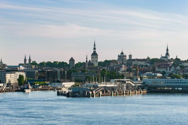 Kraje Bałtyckie Tallin Estonia